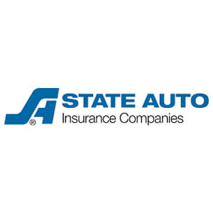 Logo for State Auto insurance company. Links to their contact info.