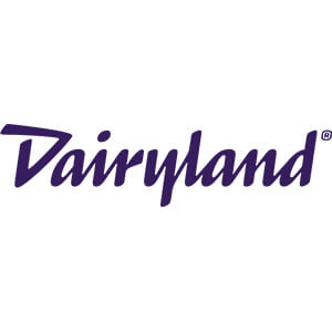 Logo for Dairyland insurance company. Links to their contact info.