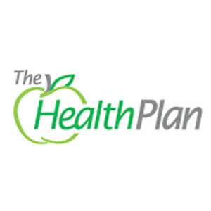 Logo for The Health Plan insurance company. Links to their contact info.