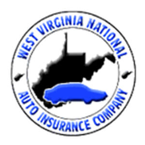 Logo for West Virginia National insurance company. Links to their contact info.